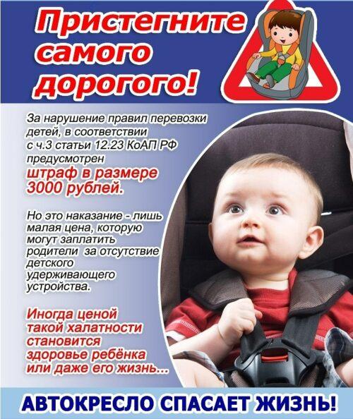 Детское автокресло 3